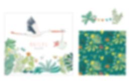 faire-part naissance, plaisirs minuscules, illustration naissance, illustrarice bruxelles