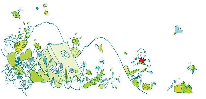 illustration, naissance-enfant-court-dessin enfant, faire-part, julie servais, illustratrice bruxelles