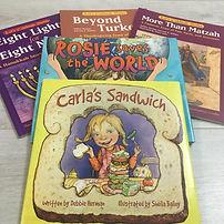 Debbie Reads Carla's Sandwich