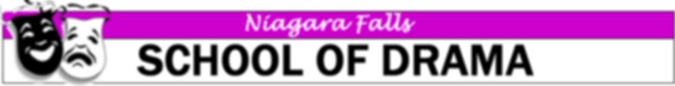 Niagara Falls School of Drama Banner