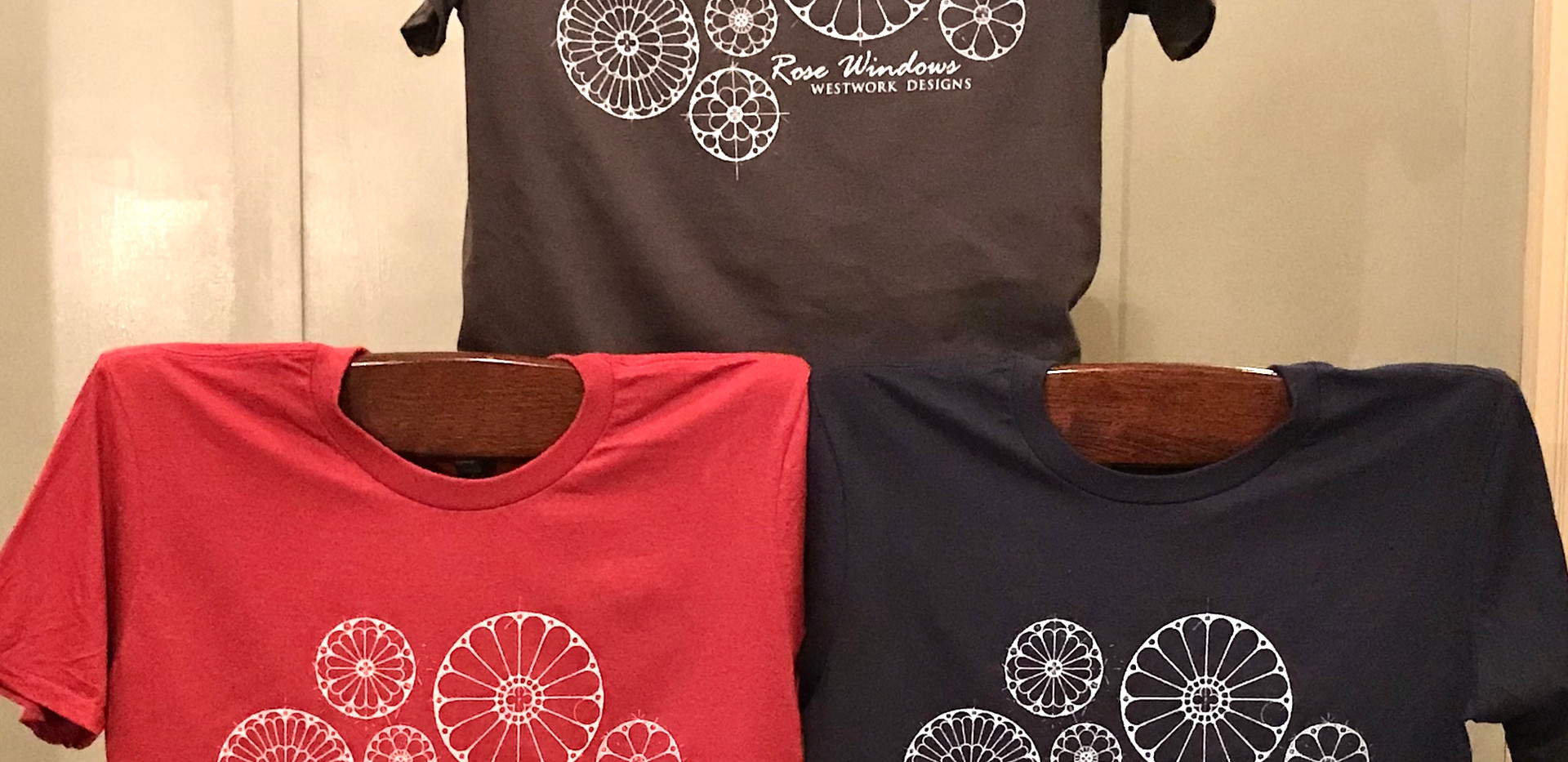 Rose Window TShirts
