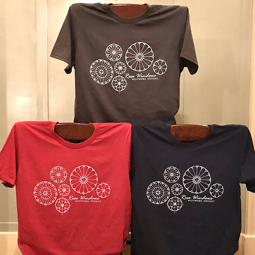 Rose Window T-Shirts