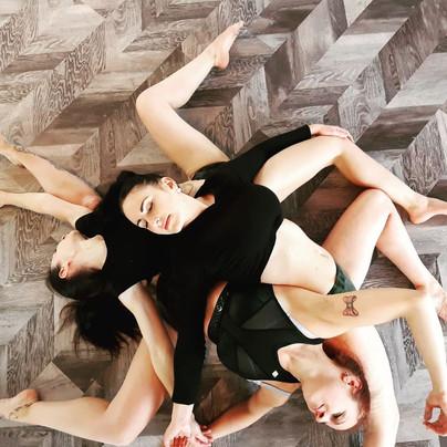 Stephanie, Susi und Eileen