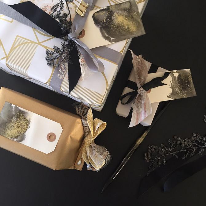 Christmas wrapping....
