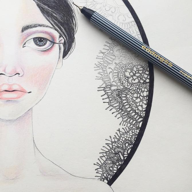 Lace details...