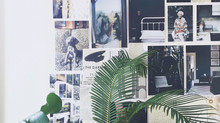 Home studio...green vibes