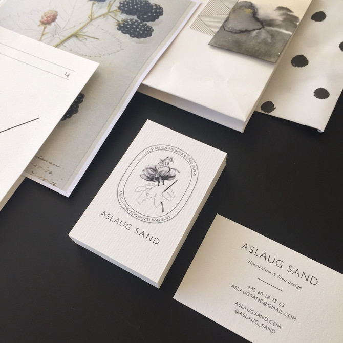 My logo is now printed on business cards
