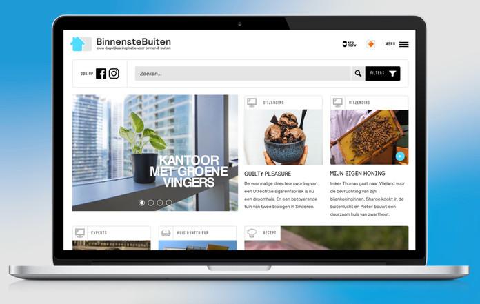 Website BinnensteBuiten