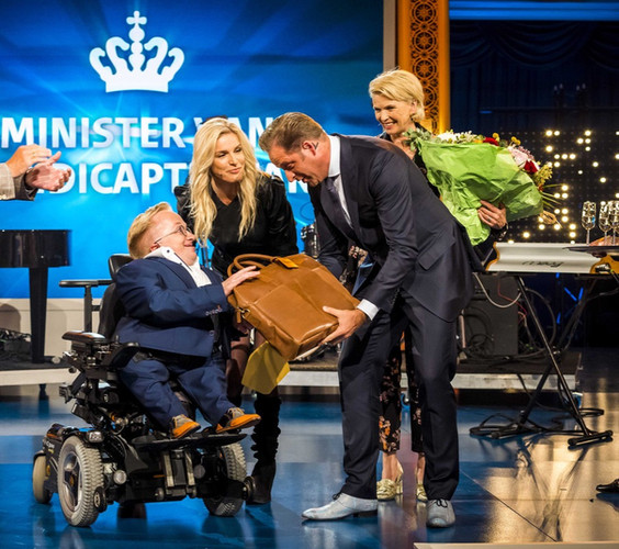 Rick Brink is chosen to be the first Minister of Disability Affairs