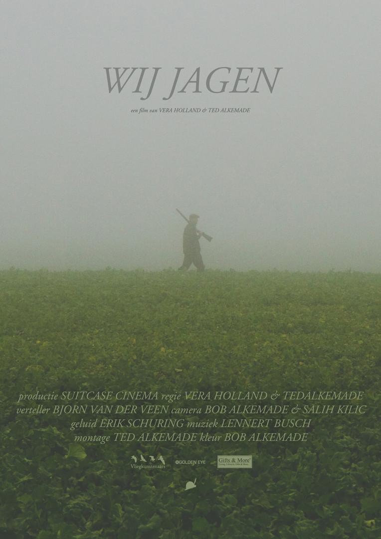 Official poster for Wij jagen.