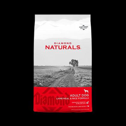 Naturals Lamb Meal & Rice 9.07 Kg.