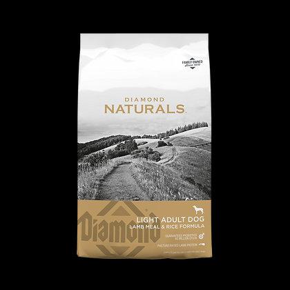 Naturals Light Lamb & Rice 6.79 Kg.