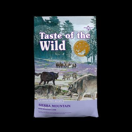 Taste of the Wild Sierra Mountain Canine (Cordero Asado) 6.3 Kg.