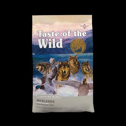 Taste of the Wild Wetlands Canine (Pato Asado) 6.3 Kg.