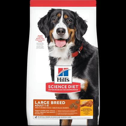Hill's Adult Large Breed 15.9 Kg.