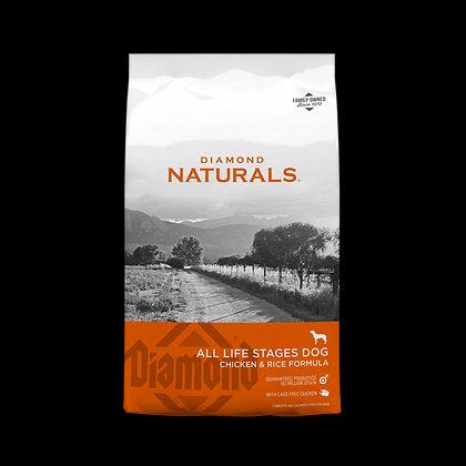 Naturals Chicken & Rice Adult 18.14 Kg.