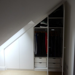 4 Door Loft Wardrobes
