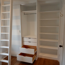 Wardrobes & Shelving