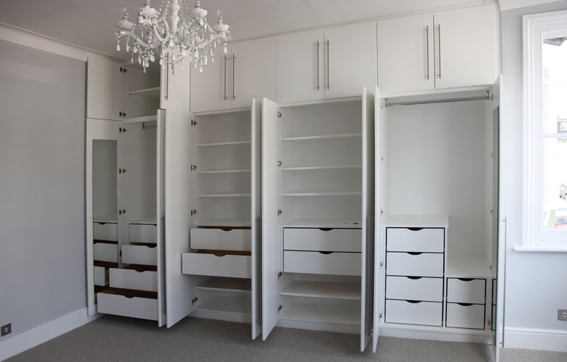 Wardrobe With Drawers Inside