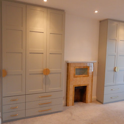 Large Alcove Wardrobes