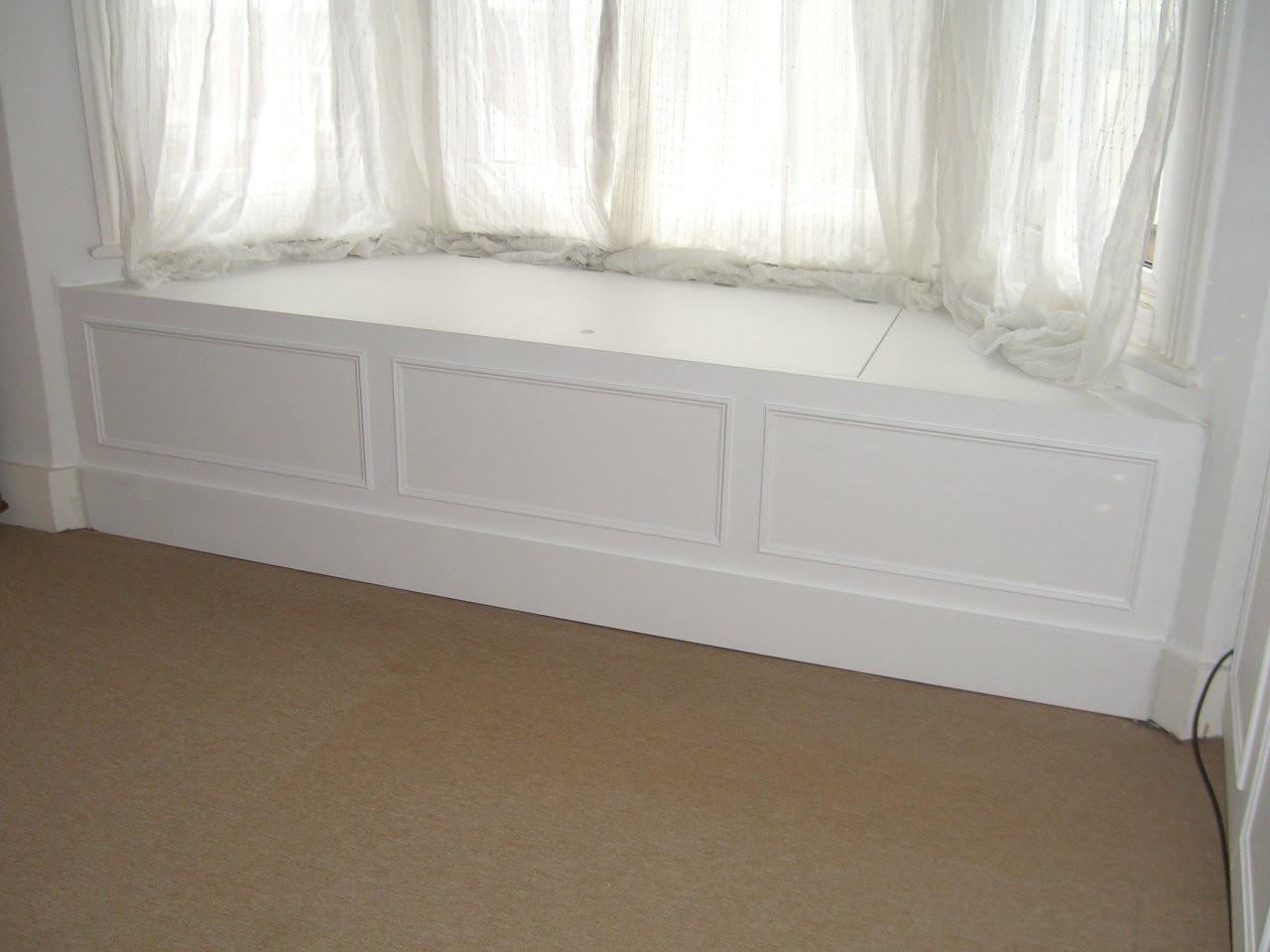 Window Bed Storage Unit