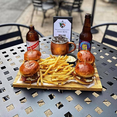 bar patio food