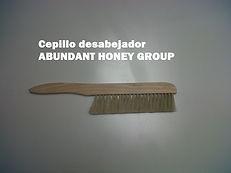 cepillo desabejador apicultura ABUNDANT HONEY GROUP Bogotá Colombia