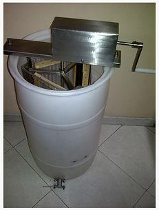 apicultura en Colombia centrifuga extractor de miel de abejas ABUNDANT HONEY GROUP