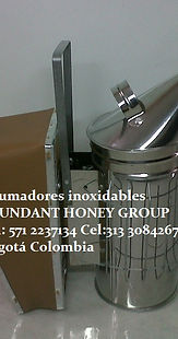 apicultura en  colombia Ahumadores inoxidable ABUNDANT HONEY GROUP