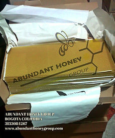 cera estampada apicultura ABUNDANT HONEY