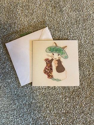 Benjamin Bunny Inspired Card