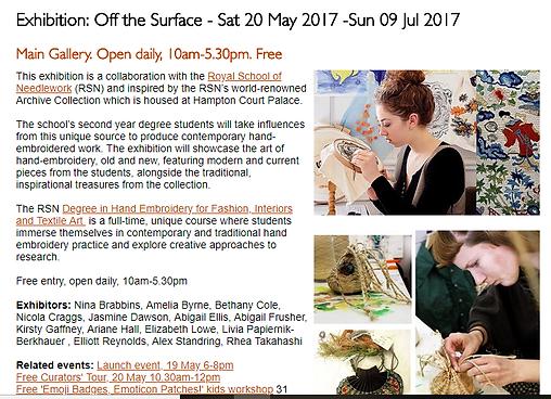 Lizzie Lowe feature, Devon Guild of New Craftsmen