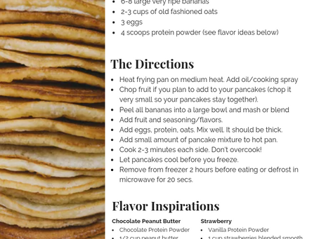 Jessica's Protein Packed Pancakes