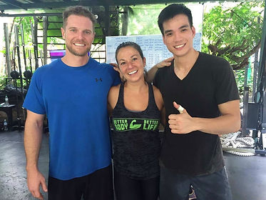 Jessica Lee Fitness with Clients