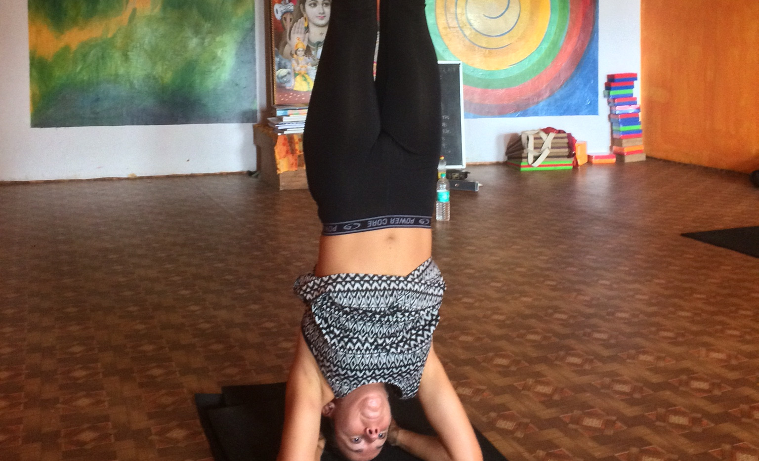 Jessica Lee Yoga in India