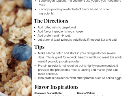 Overnight Oats - The easiest breakfast you'll love to eat!