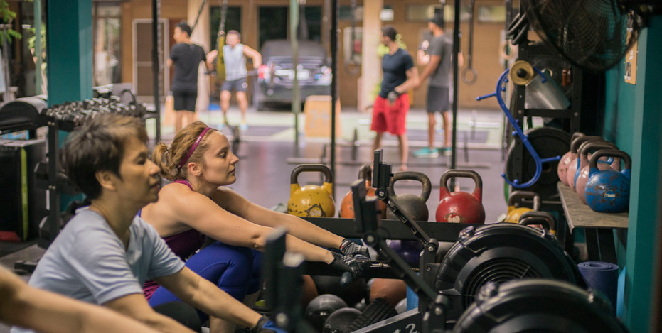Group Class Rowing