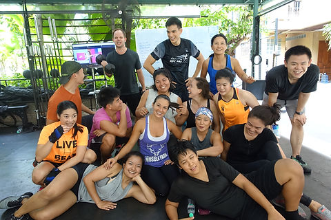 Jessica Lee Fitness Group Class Fun