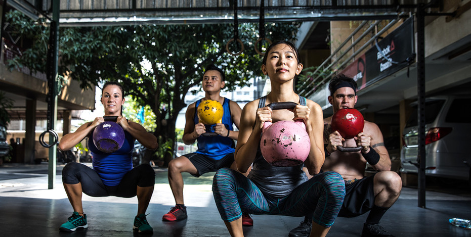 Jessica Lee Group Kettlebell Classes