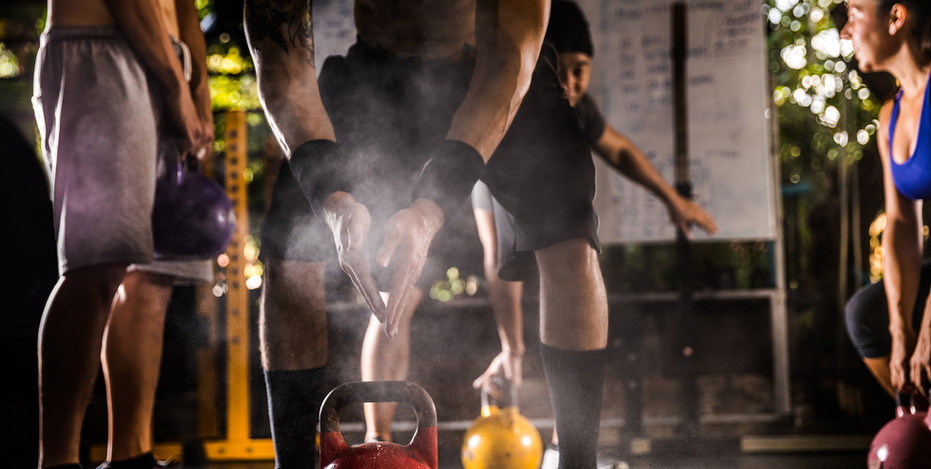 Kettlebell Class with Jessica Lee