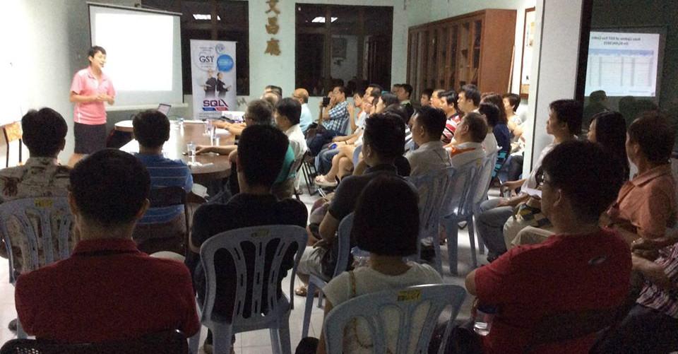 SQL Account GST Workshop with 吉坡金钻 珠宝商公会 (Kedah&Perlis FGJAM) on 07-01-2015
