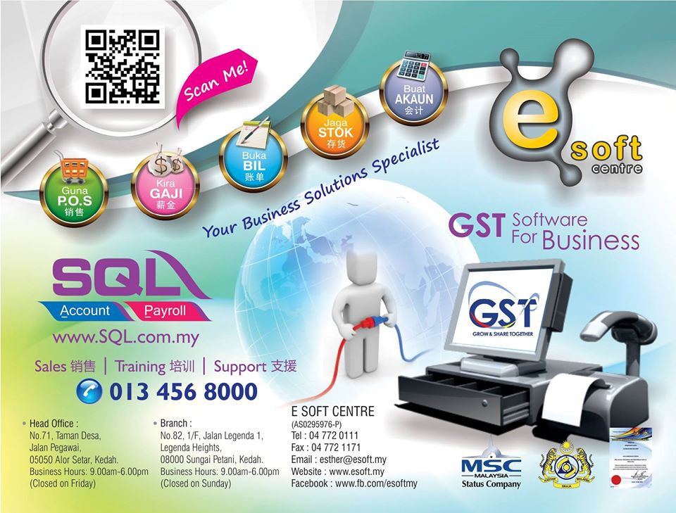 TMEF All New GST Conference Nationwide Roadshow 2016 with SQL Account in Sungai Petani on 24-12-2016