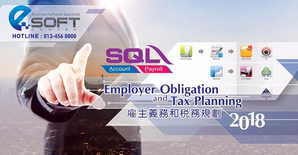 Employer Payroll Obligation and Income Tax Planning 2018 Seminar in Alor Setar on 27 Dec 2017