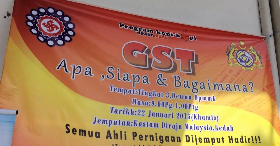 GST Seminar by DPMM KEDAH & KASTAM KEDAH with SQL Account on 22-01-2015