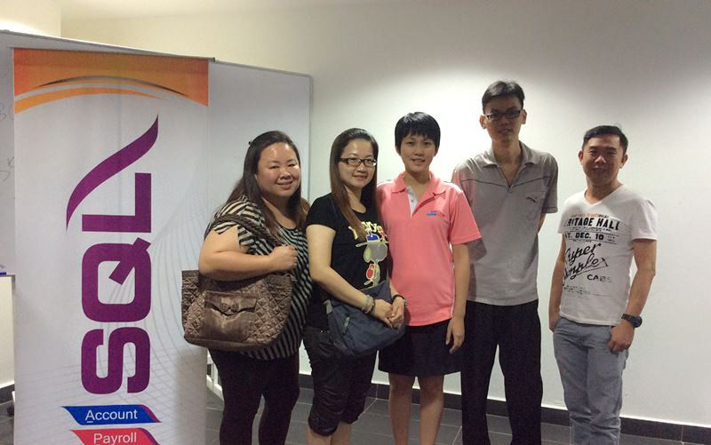 SQL Account GST Workshop with YM ONG Management on 12-12-2014