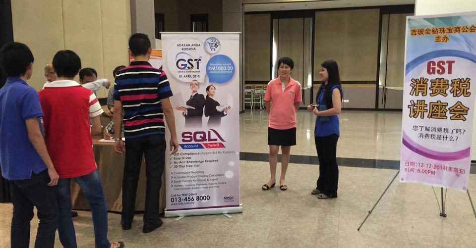 GST Seminar by 吉坡金钻珠宝商公会 (Kedah&Perlis FGJAM) with SQL Account on 12-12-2014