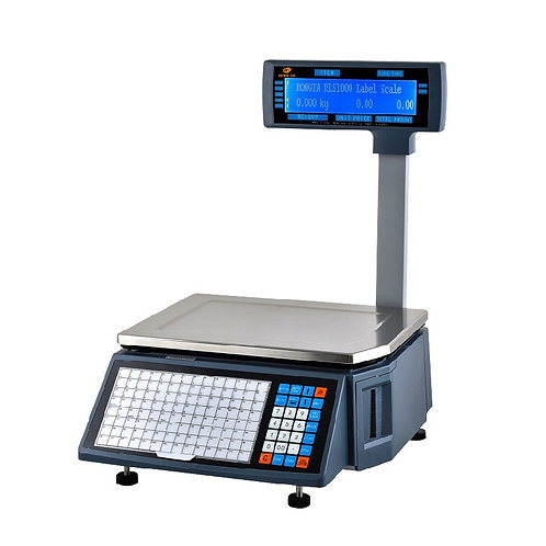 Weight Scale Machine with Barcode Label Printer