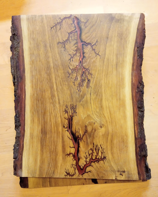 Chopping board large copper