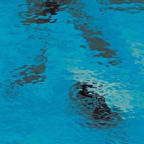 Waterglass Deep Aqua (per square meter)