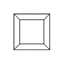 "Bevel Square 3"""